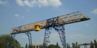 Окраска мостовых, башенных кранов Красноярск